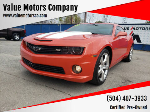 2011 Chevrolet Camaro for sale at Value Motors Company in Marrero LA
