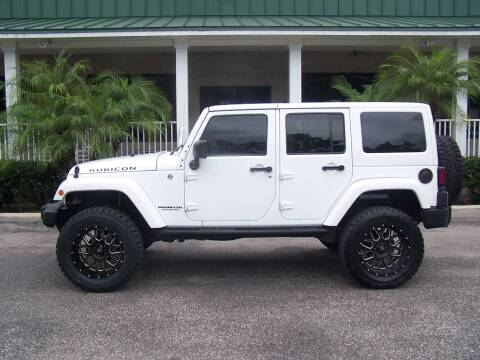 2014 Jeep Wrangler Unlimited for sale at Thomas Auto Mart Inc in Dade City FL