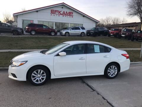 2016 Nissan Altima for sale at Efkamp Auto Sales LLC in Des Moines IA