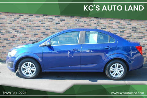 2014 Chevrolet Sonic for sale at KC'S Auto Land in Kalamazoo MI