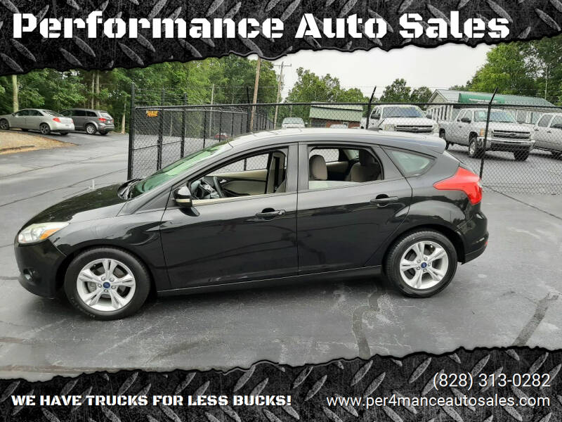 2013 Ford Focus for sale at Performance Auto Sales in Hickory NC