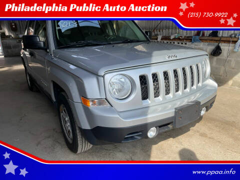 2013 Jeep Patriot for sale at Philadelphia Public Auto Auction in Philadelphia PA