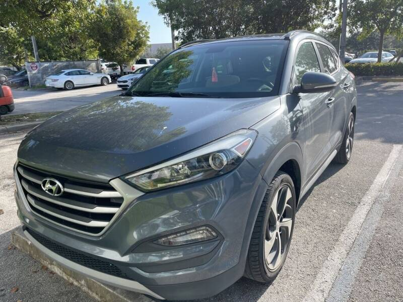 2018 Hyundai Tucson for sale at DORAL HYUNDAI in Doral FL