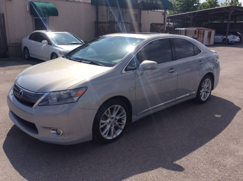 2010 Lexus HS 250h for sale at OASIS PARK & SELL in Spring TX