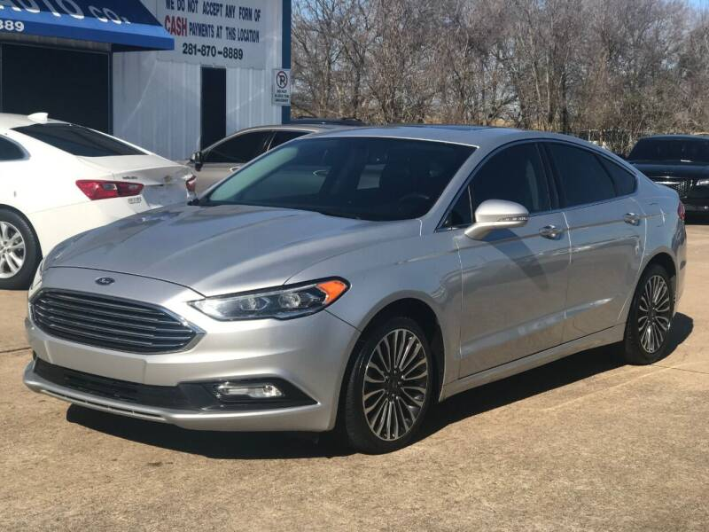 2018 Ford Fusion for sale at Discount Auto Company in Houston TX