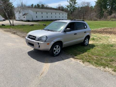 2005 Hyundai Tucson for sale at ds motorsports LLC in Hudson NH