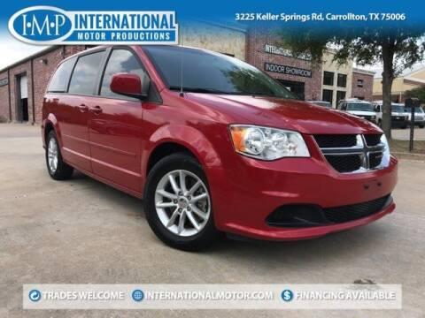 2015 Dodge Grand Caravan for sale at International Motor Productions in Carrollton TX