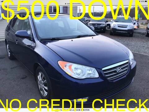 2010 Hyundai Elantra for sale at Cooks Motors in Westampton NJ
