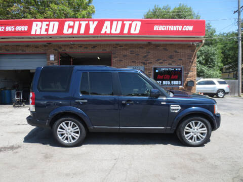 2012 Land Rover LR4 for sale at Red City  Auto in Omaha NE