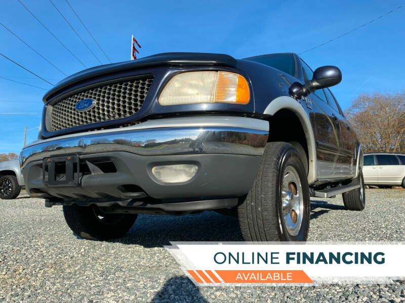 2001 Ford F-150 for sale at Prime One Inc in Walkertown NC