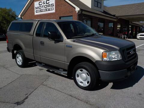 2005 Ford F-150 for sale at C & C MOTORS in Chattanooga TN