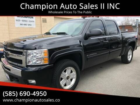 2011 Chevrolet Silverado 1500 for sale at Champion Auto Sales II INC in Rochester NY