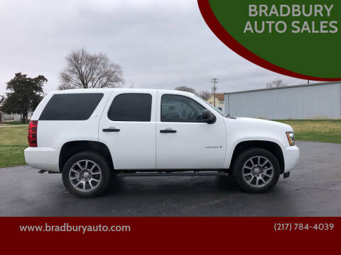2009 Chevrolet Tahoe for sale at BRADBURY AUTO SALES in Gibson City IL