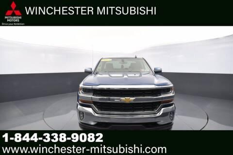 2017 Chevrolet Silverado 1500 for sale at Winchester Mitsubishi in Winchester VA