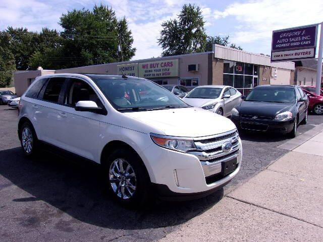 2012 Ford Edge for sale at Gregory J Auto Sales in Roseville MI