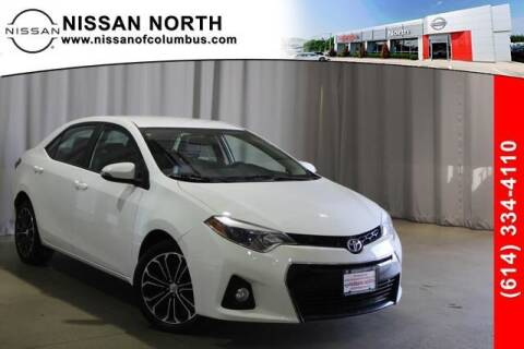 2015 Toyota Corolla for sale at Auto Center of Columbus in Columbus OH