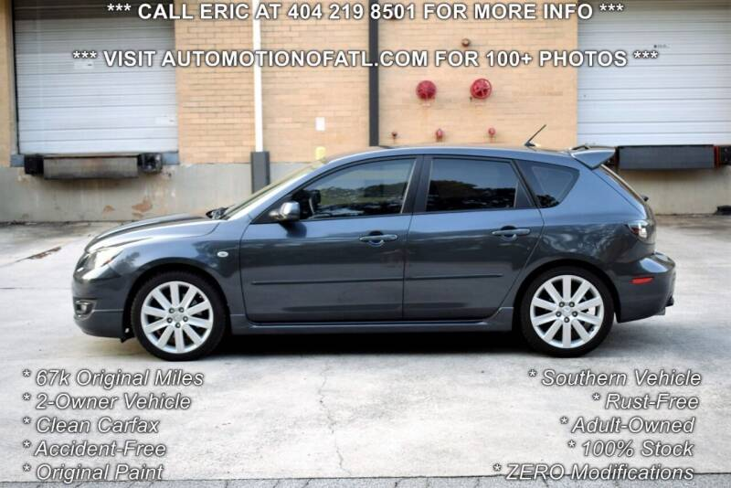 2008 Mazda MAZDASPEED3 for sale at Automotion Of Atlanta in Conyers GA