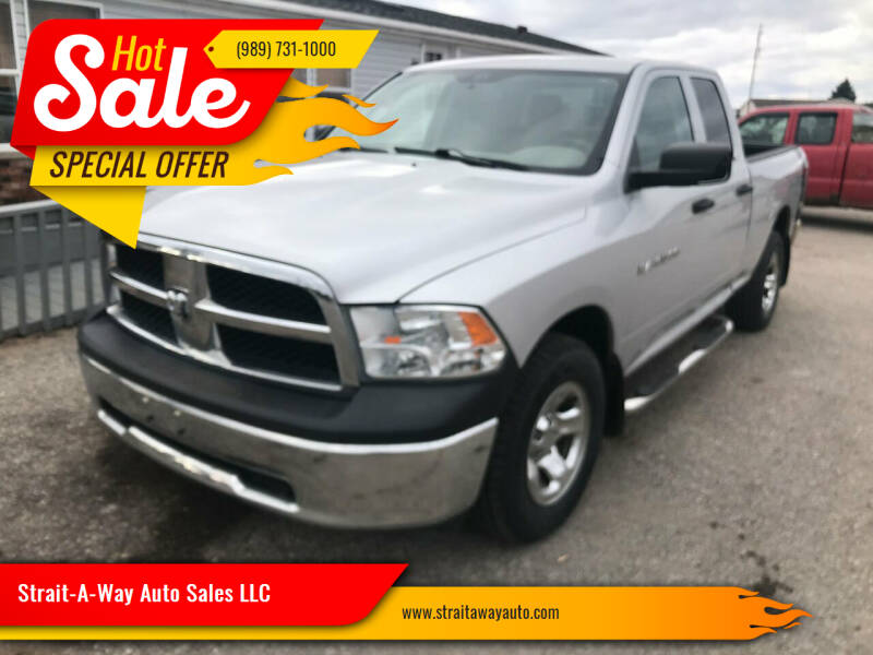 2012 RAM Ram Pickup 1500 for sale at Strait-A-Way Auto Sales LLC in Gaylord MI