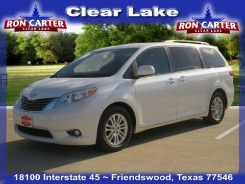 2016 Toyota Sienna for sale at Ron Carter  Clear Lake Used Cars in Houston TX