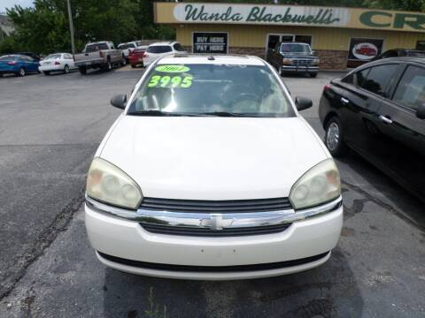 2004 Chevrolet Malibu Maxx for sale at Credit Cars of NWA in Bentonville AR