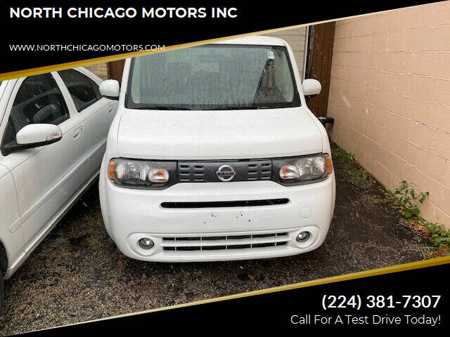 2013 Nissan cube for sale at NORTH CHICAGO MOTORS INC in North Chicago IL