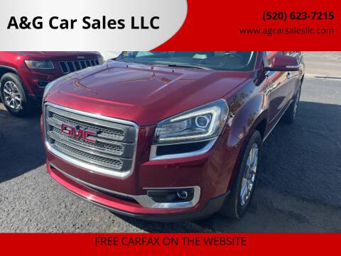 2017 GMC Acadia Limited for sale at A&G Car Sales  LLC in Tucson AZ