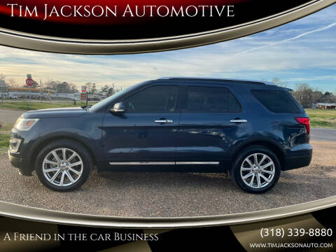 2017 Ford Explorer for sale at Tim Jackson Automotive in Jonesville LA