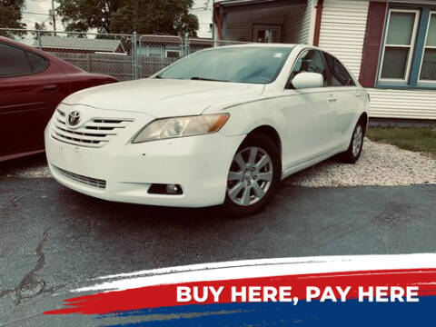 2007 Toyota Camry for sale at Marti Motors Inc in Madison IL