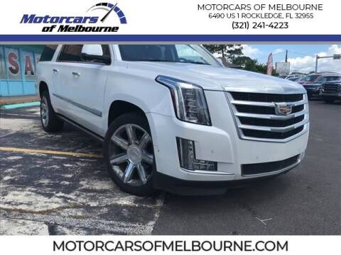 2016 Cadillac Escalade ESV for sale at Motorcars of Melbourne in Rockledge FL