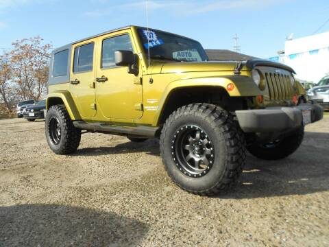 2007 Jeep Wrangler Unlimited for sale at Mountain Auto in Jackson CA