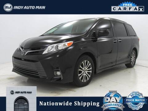 2019 Toyota Sienna for sale at INDY AUTO MAN in Indianapolis IN