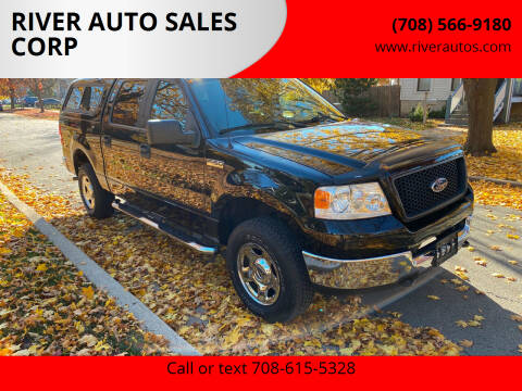 2005 Ford F-150 for sale at RIVER AUTO SALES CORP in Maywood IL