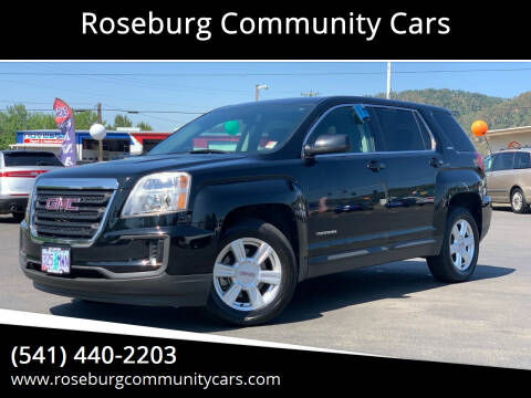 2016 GMC Terrain for sale at Roseburg Community Cars in Roseburg OR