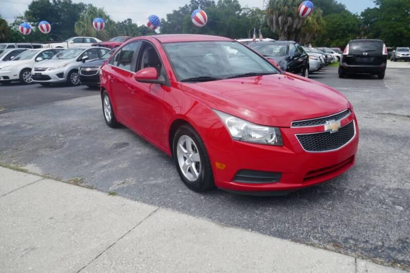 2014 Chevrolet Cruze for sale at J Linn Motors in Clearwater FL