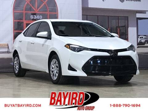 2018 Toyota Corolla for sale at Bayird Truck Center in Paragould AR