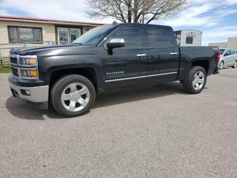 2014 Chevrolet Silverado 1500 for sale at Revolution Auto Group in Idaho Falls ID