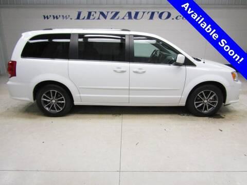 2017 Dodge Grand Caravan for sale at LENZ TRUCK CENTER in Fond Du Lac WI