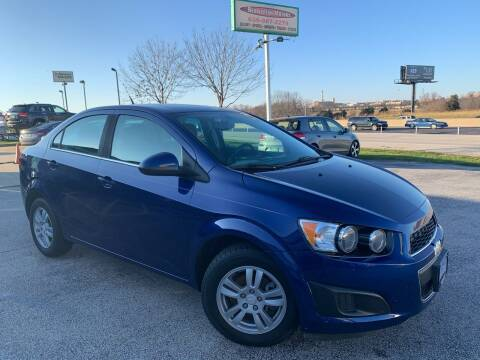 2014 Chevrolet Sonic for sale at Revolution Motors LLC in Wentzville MO