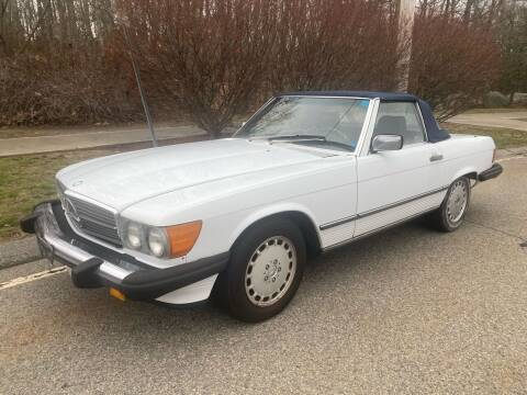 1988 Mercedes  560 SL for sale at Padula Auto Sales in Braintree MA