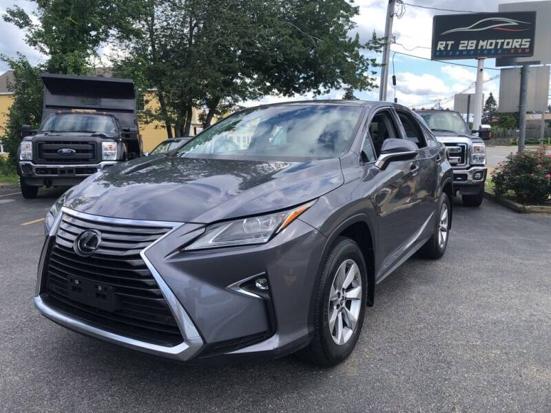 2018 Lexus RX 350 for sale at RT28 Motors in North Reading MA
