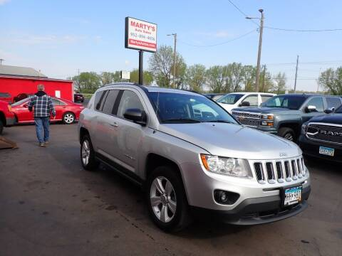 2012 Jeep Compass for sale at Marty's Auto Sales in Savage MN