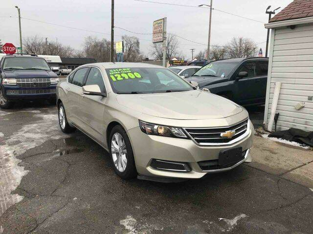 2014 Chevrolet Impala for sale at Mastro Motors in Garden City MI