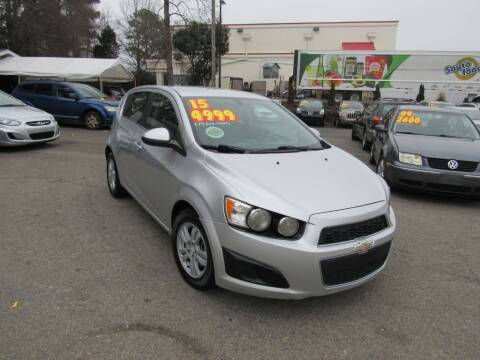 2015 Chevrolet Sonic for sale at Auto Bella Inc. in Clayton NC