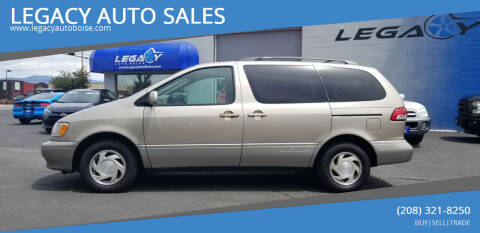 2003 Toyota Sienna for sale at LEGACY AUTO SALES in Boise ID