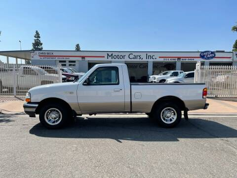 1998 Ford Ranger for sale at MOTOR CARS INC in Tulare CA