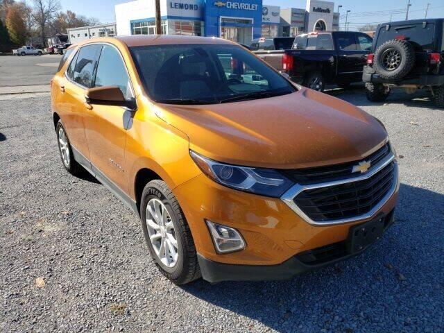 2018 Chevrolet Equinox for sale at LeMond's Chevrolet Chrysler in Fairfield IL