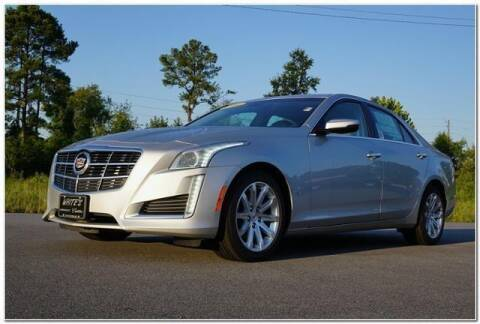 2014 Cadillac CTS for sale at WHITE MOTORS INC in Roanoke Rapids NC