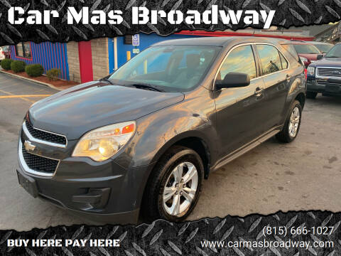 2011 Chevrolet Equinox for sale at Car Mas Broadway in Crest Hill IL