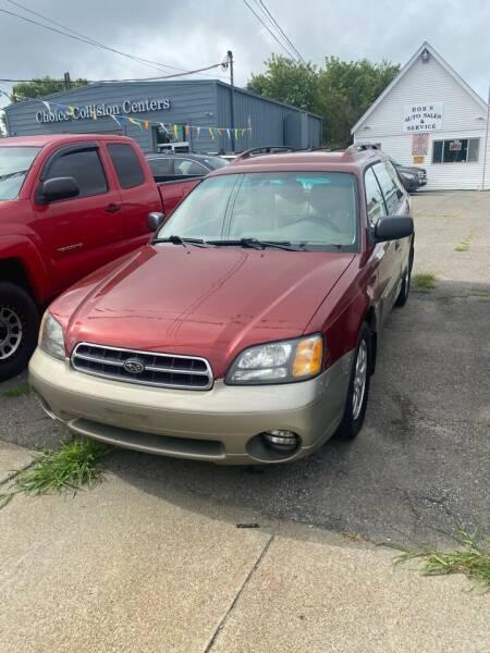 2002 Subaru Outback for sale at Bob Luongo's Auto Sales in Fall River MA