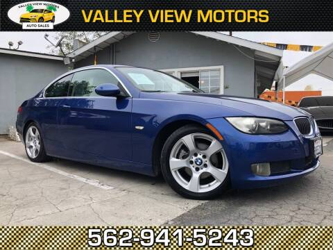 2007 BMW 3 Series for sale at Valley View Motors in Whittier CA